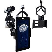 Seben adaptador smartphone móvil universal adaptador DKA5 para telescopio, prismáticos, telescopio terrestre, microscopio