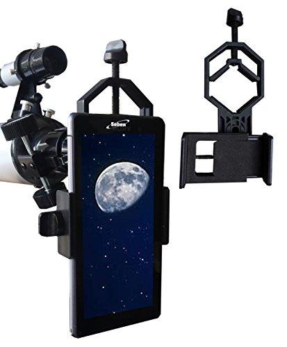 Seben Universal Smartphone Handy Telefon Adapter DKA5 für Teleskop, Spektiv, Monokular, Fernglas, Mikroskop