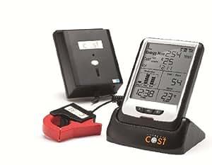 Current Cost Black ENVI unit + Data Cable RJ45 to USB Bundle CCPM001 compatible with Google PowerMeter