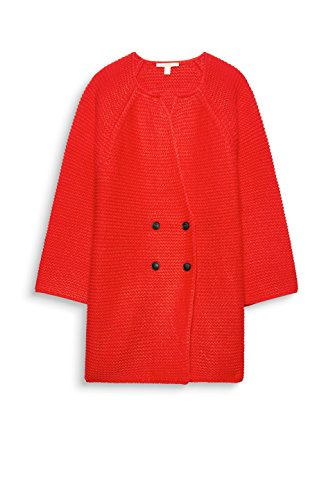 ESPRIT Damen Strickjacke Orange (Red Orange 825)