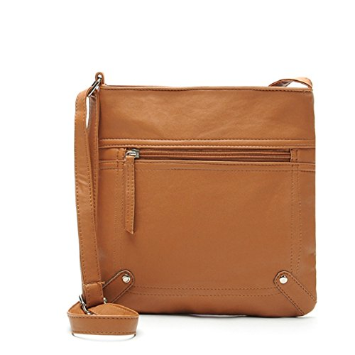 - 41i6Gqtve L - Tongshi 23*25cm Women's Pu Leather Satchel Cross Body Shoulder Messenger Bag Handbag  - 41i6Gqtve L - Deal Bags