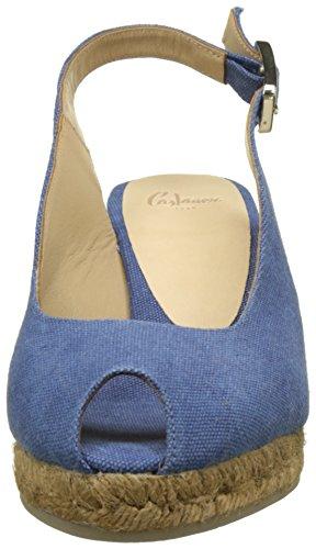 Castaner Beli 6 325, Espadrilles femme Bleu