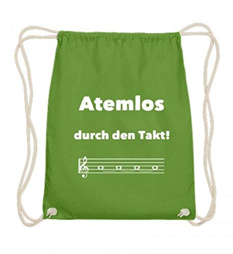 Atemlos durch den Takt - für alle Chor Sängerinnen und Sänger und Blasmusik Blechbläser - Baumwoll Gymsac