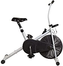 Energie Fitness Upright Bike EAB - 101 with Digital Meter-Exercise Cycle with Solid Body Upright Bike