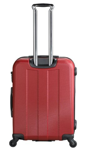 ... 50% SALE ... PREMIUM DESIGNER Hartschalen Koffer - Heys Crown Elite V Rot - Trolley mit 4 Rollen Gross Rot
