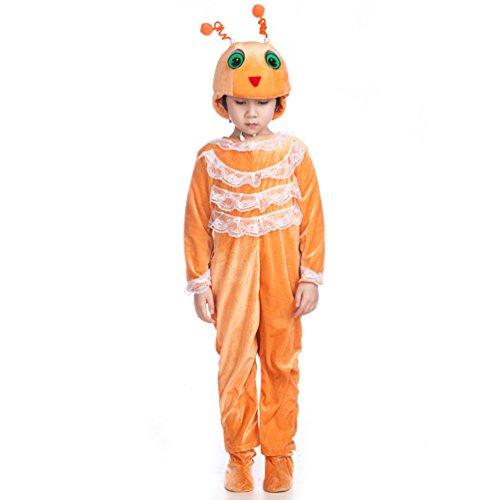 Honeystore Kind's Unisex Tier Jumpsuit Kostüm Jumpsuit Siamesische Kleidung Pyjamas Cosplay (Parasitärer Zwilling Kostüm)