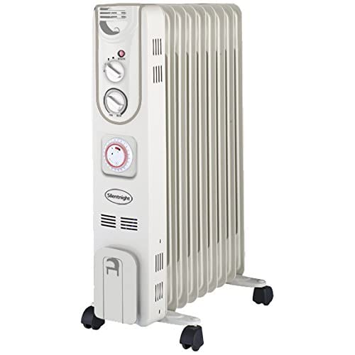 41i6JShAVTL. SS500  - Silentnight 38160 Oil Radiator, 2000 W