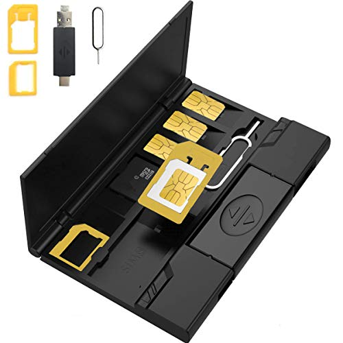 SHIYN SIM-Karten-Set wiederherstellen Telefon-Speicherkarte Box Digitale Speicherkarte SD-Karte Speichergerät Handy-Halterung usb3.0SIM Veredelung Packag (Speichergerät Sd-karte)