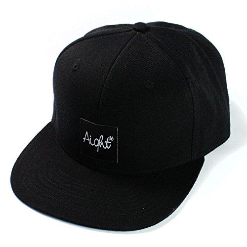Aight Evolution Snapback Cap OG Patch schwarz (Black) -