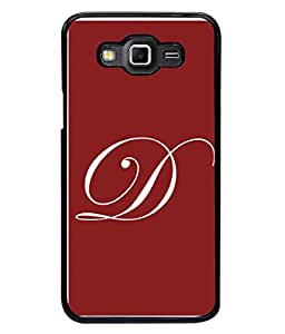 PrintVisa Designer Back Case Cover for Samsung Galaxy Grand Max G720 (Dark Darling D Maroon capital)