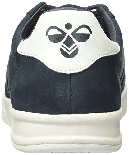 Hummel Hml Stadil Winter Low Sneaker, Baskets Basses Mixte Adulte Bleu (Total Eclipse)