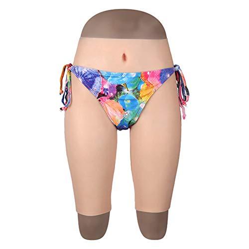 CD Pseudo-Natur Kleid Gefälschte Yin Five Pants Simulation Ultradünne Silikon Gefälschte Yin Matte,Brass,plantinginserted