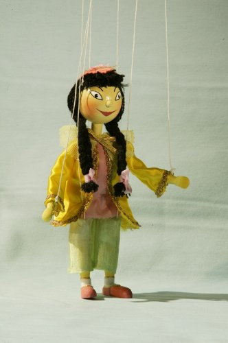 Augsburger Puppenkiste Marionette Prinzessin Li Si aus Jim Knopf