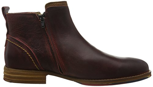 Yellow Cab RENT M -Bottes courtes  Homme Rouge (Red)