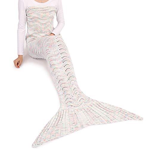 Lingvi Meerjungfrau Decke, Meerjungfrau Schwanz Deckung für Erwachsene, -