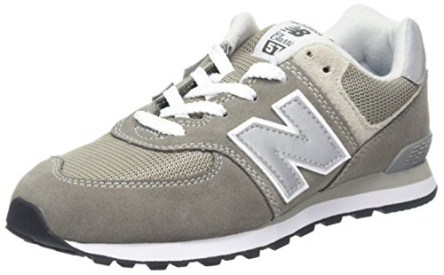 New Balance Pc574v1, Unisex-Kinder Sneaker, Grau (Grey), 35 EU (2.5 UK)