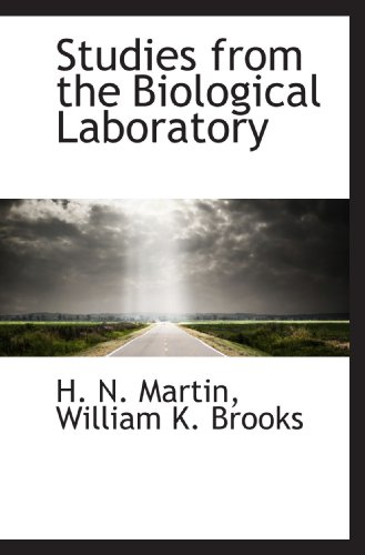 Studies from the Biological Laboratory