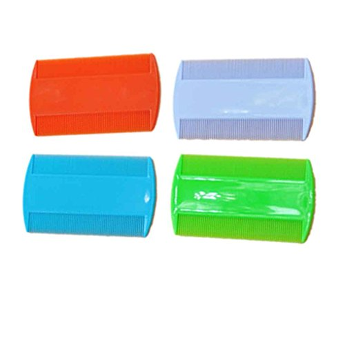 LUFA 2 UNIDS Plástico Puro Color Fine Tooth Head