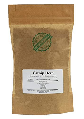 Echte Katzenminze Kraut/Nepeta Cataria L/Catnip Herb # Herba Organica # Katzenmelisse (100g)