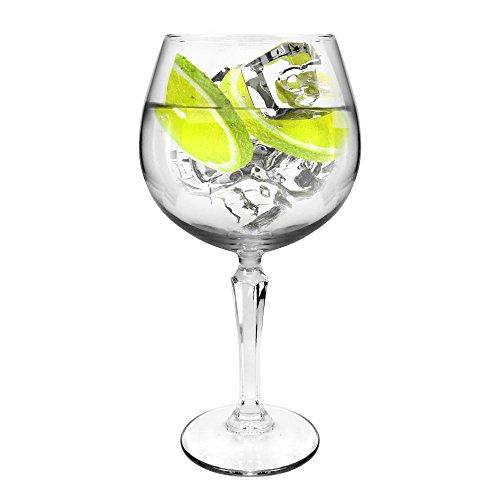 Ginsanity [Speakeasy groß [585 ml] Copa Glas Gin und Tonic [G&T] Balloon Gläser Für Cocktails und Geschenkbox