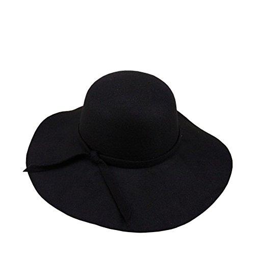 Ogquaton 1 UNIDS Damas Elegante ala ancha Sombrero