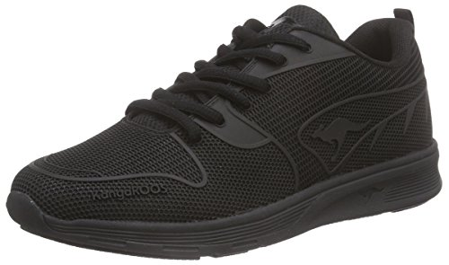 KangaROOS K- Light 8003 Damen Sneakers Schwarz (black/black 550)