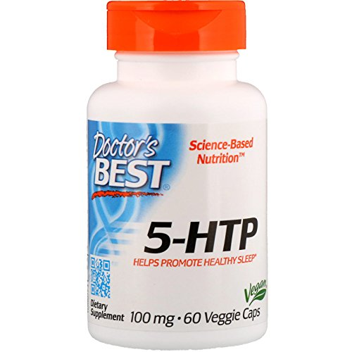 Doctor's Best 5-HTP, 100mg - 60 vcaps 60 unidades 40 g