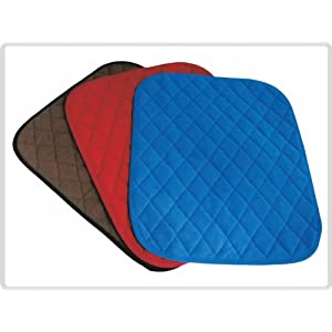 Sitzschutzauflage Sitzauflage saugfähig, Sitzkissen, Sitzpolster, Inkontinenzauflage Gr. 40 x 50cm *blau, braun oder Rot* – *Top-Qualität zum Top-Preis*
