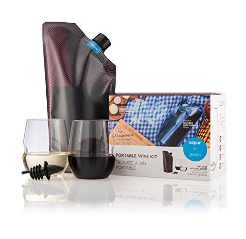 vapur-wondervino-portable-wine-kit-750ml-flask-with-2-shatterproof-glasses-12oz