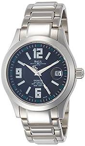[Ball Watch] BALLWATCH watch engineer II Arabic stainless steel self-winding black dial 100m water resistant NM1020C-S4J-BKSL Men's parallel import goods]