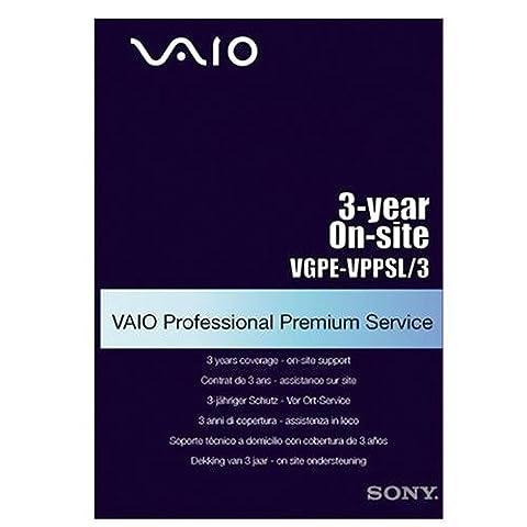 Sony Vaio VGPEVPPSL3 Professional Premium Service 3-jähriger Schutz-next Business vor-Ort-Service