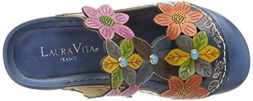 Laura Vita Damen Bianca 20 Clogs Blau (Jeans)