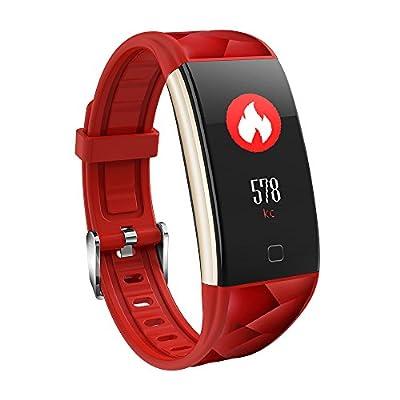 Fitness Tracker, KASSADIN Wristband Heart Rate Monitor Smart Bracelet Activity Band from KASSADIN
