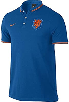 Nike Polo Shirt Dutch League Niederlande Authentic Hemd - Camiseta / camisa deportiva para hombre
