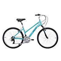 REID Girl's Comfort MTB WSD New 33cm Hybrid Bike - Teal, 130 x 40 x 20