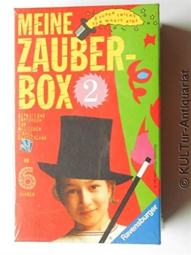 Meine Zauberbox 2. Drei Super-Tricks für Magic Kids.