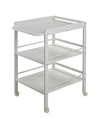Geuther Table àLanger Clarissa blanche - Plan à langer + 2 étagères