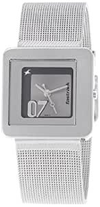 Fastrack XY Analog Grey Dial Women's Watch - NE2356SM04
