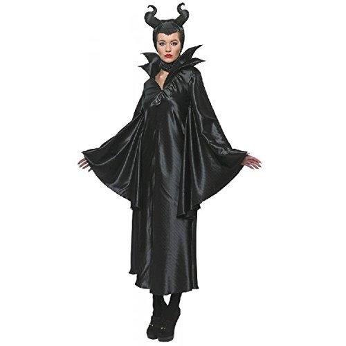Disney Maleficent'kostüm - Rubie's Disney Maleficent Damenkostüm Böse Fee Lizenzware schwarz M
