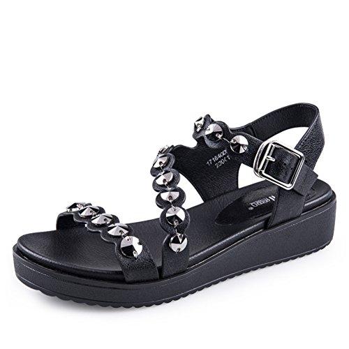 Été, Plate-forme Inférieure, Sandale / Madame, Open Toe, Sandale B