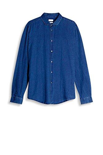 ESPRIT Collection Herren Businesshemd Blau (Blue Medium Wash 902)