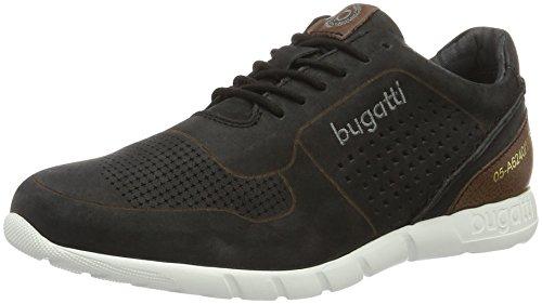 bugatti-herren-k19015-sneakers-schwarz-schwarz-100-46-eu