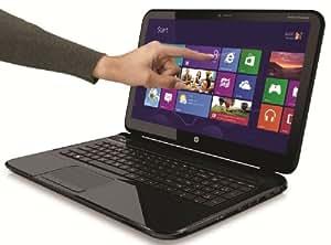 """HP Pavilion 14-b155sf Touchsmart Ordinateur Portable Tactile 14"""" (35,56 cm) Intel Core i3-3217U 750Go Autonomie 6h Noir"""