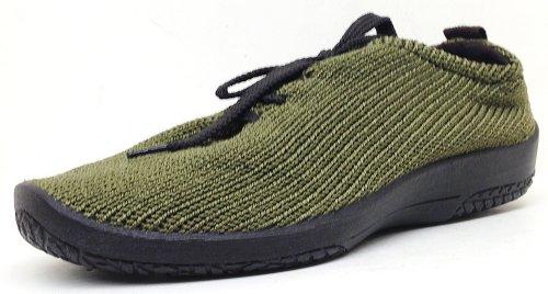Arcopedico Womens LS 1151Chaussures de Tissu vert olive