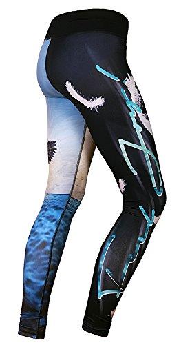 FeelJ! Damen Leggings Swan, Multicolor - 2