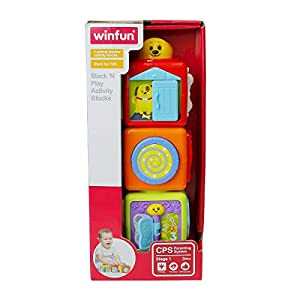 winfun 0613-NI Richmond Toys Stack and Play Bloque de Actividades