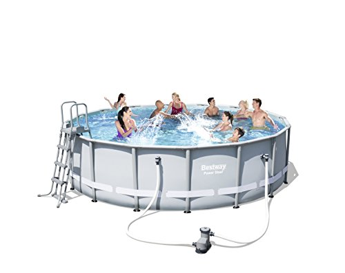 Bestway Frame Pool Power Steel Set 488×122 cm - 4