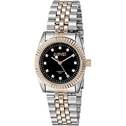 August Steiner Reloj de cuarzo Woman AS8046TTR Plateado/Dorado 31 mm