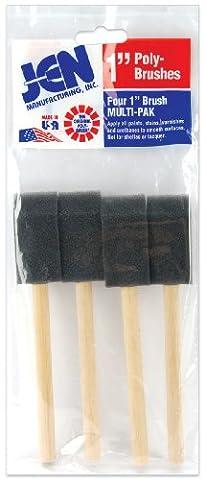 Poly-Sponge Brushes 4/Pkg-1