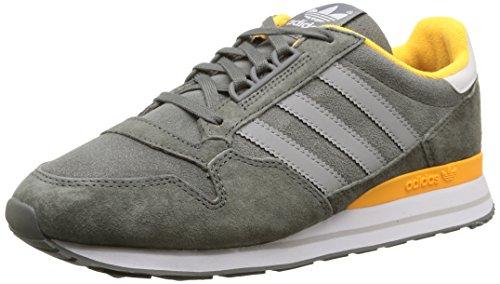 adidas Originals ZX 500, Damen Sneakers, Grau (Ash/Mgh Solid Grey/Solar Gold), 38...